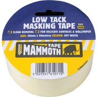 Everbuild Low Tack Masking Tape 50mm 25m