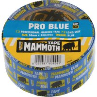 Everbuild Pro Blue Masking Tape 25mm 33m