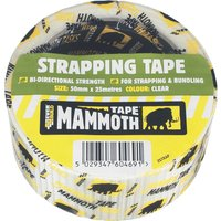Everbuild Strapping Tape Clear Clear 50mm 25m