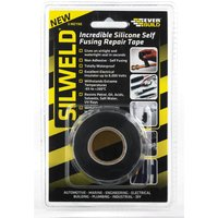 Everbuild Silweld Silicon Self Fusing Black Repair Tape 3m