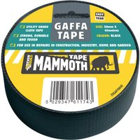 Everbuild Gaffa Tape Black 50mm 45m