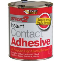 Everbuild Stick 2 All Purpose Contact Adhesive 750ml