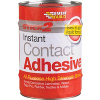 Everbuild Stick 2 All Purpose Contact Adhesive 5l