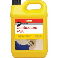 Everbuild Contractors PVA Glue 5l