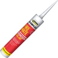 Everbuild Fire Mate Intumescent Sealant Brown