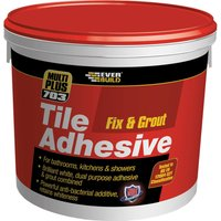 Everbuild Mould Reistant Fix & Grout Tile Adhesive 5l