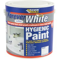 Everbuild Forever White Hygienic Paint Clear 2.5l