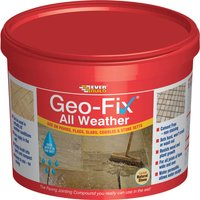 Everbuild Geo-Fix All Weather Jointing Compound for Patio Stones Natural Stone 14kg