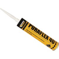 Everbuild Puraflex 40 Industrial PU Sealant Black