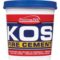 Everbuild KOS Fire Cement Black 500g