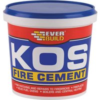 Everbuild KOS Fire Cement Black 2000g