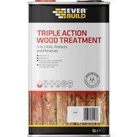 Everbuild Lumberjack Triple Action Wood Treatment 5l