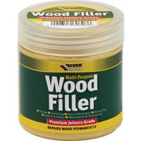 Everbuild Multi Purpose Premium Joiners Grade Wood Filler Medium Stainable 250ml
