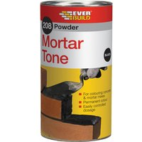 Everbuild Powder Mortar Tone Brown 1kg