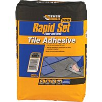 Everbuild Rapid Set Tile Mortar 10kg