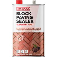 Everbuild Resiblock Superior Block Paving Sealer Gloss 5l