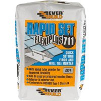 Everbuild Rapid Set Flexiplus Tile Adhesive 20kg