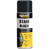 Everbuild Stain Block Spray White 400ml