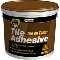 Everbuild Tile on Timber Tile Adhesive 10kg