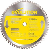 Evolution Stainless Steel Cutting Saw Blade 355mm 90T 25 4mm