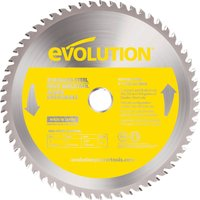 Evolution Stainless Steel Cutting Saw Blade 230mm 60T 25 4mm