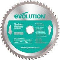 Evolution Aluminium Cutting Saw Blade 180mm 54T 20mm