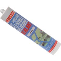 Evostik All Purpose Flexible Silicone Sealant Black 310ml