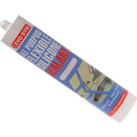 Evostik All Purpose Flexible Silicone Sealant Clear 310ml