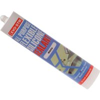 Evostik All Purpose Flexible Silicone Sealant White 310ml
