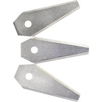 Bosch Genuine Blades for INDEGO Robotic Lawnmowers Pack of 3