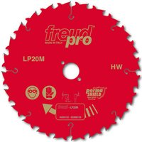 Freud LP20M Rip Circular Saw Blade 216mm 24T 30mm