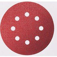 Bosch 125mm C430 Wood Sanding Disc 125mm 240g Pack of 5