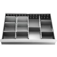 Facom 27 Partition Steel Divider for 75mm Wall Chests & Cabinets