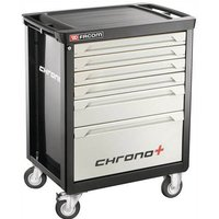 Facom CHRONO+ 6 Drawer Roller Cabinet Black / Silver
