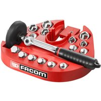 Facom 15 Piece Oil Drain Wrench and Magnetic Socket and Bit Set Combination