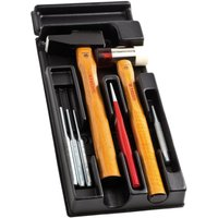 Facom 7 Piece Hammer, Chisel and Punch Set in Module Tray