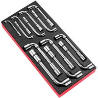 Facom 13 Piece Angled Socket Wrench Set Metric in Module Tray