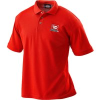 Facom Mens Short Sleeve Polo Shirt Red L