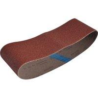 Faithfull Aluminum Oxide Cloth Belt 533mm X 75mm 75mm x 533mm 40g Pack of 1