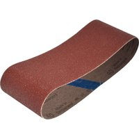 Faithfull Cloth Sanding Belts 75 x 457mm 75mm x 457mm 40g Pack of 3