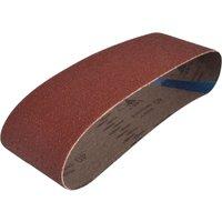Faithfull Cloth Sand Belts 75mm x 533mm 75mm x 533mm 40g Pack of 3