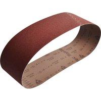 Faithfull Cloth Sanding Belts 100 x 915mm 100mm x 915mm 120g Pack of 1