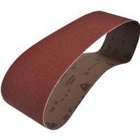 Faithfull Cloth Sanding Belts 100 x 915mm 100mm x 915mm 60g Pack of 1