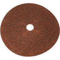 Faithfull Aluminium Oxide Sanding Discs 178mm 24g