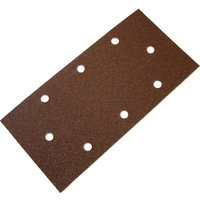 Faithfull 93 x 230mm Perforated Sanding Sheets 93mm x 230mm Assorted Pack of 5