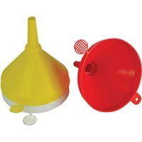 Faithfull 3 Piece Plastic Funnel Set