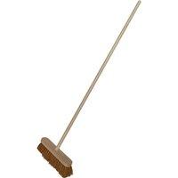 Faithfull Coco Varnished Broom 12 & Handle 12