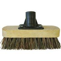 Faithfull Threaded Socket Deck Scrub Broom Head 7 7
