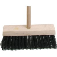 Faithfull Blue PVC Flat Broom 13 + Handle 13