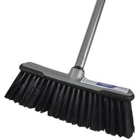 Faithfull Soft Broom 12 & Handle 12
